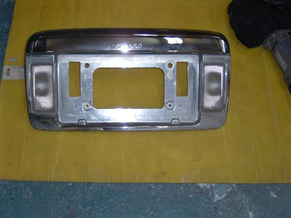 Figaro - Rear License Plate Panel (used)