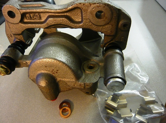 Delica - Front Brake Caliper (Passenger/Left Side)