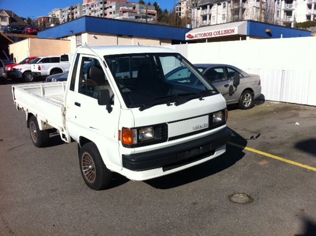 1992 Toyota LiteAce Pick Up Truck Diesel