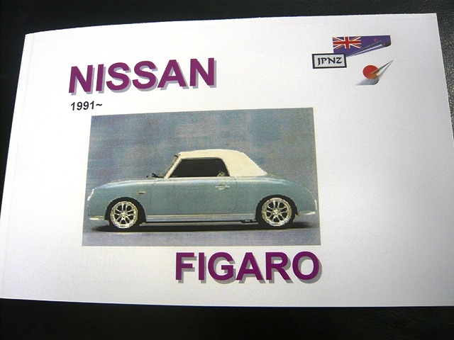 Figaro - Owner's Handbook in English